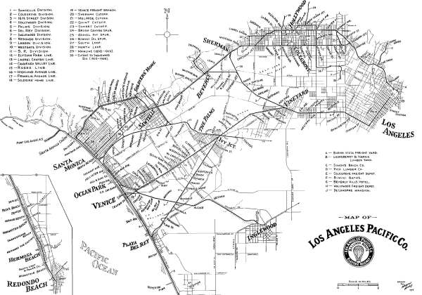"Los Angeles Pacific Railway's ""Balloon Route"""