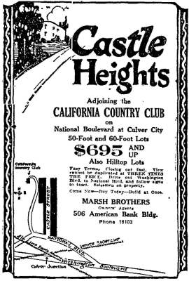 Castle Heights (1922)
